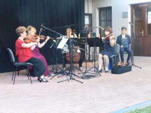 Strigonia vonósnégyes koncertje